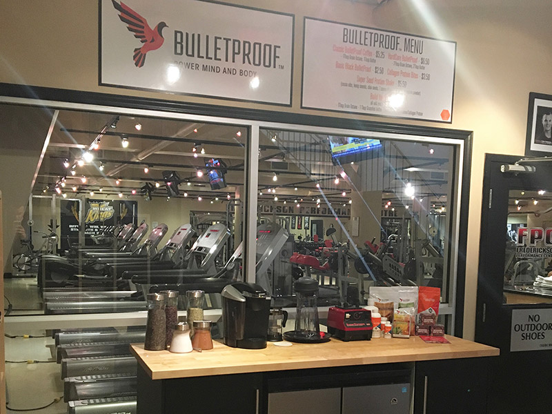 Bulletproof Coffee - Frederickson Performance Centre, Brandon, Manitoba