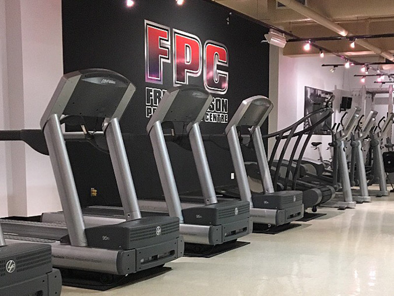 Treadmills - Frederickson Performance Centre, Brandon, Manitoba